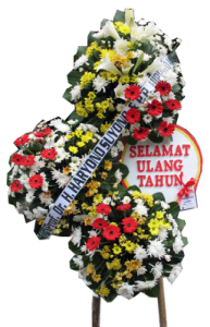 Jual Rangkaian Bunga Standing Bandung