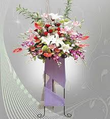 Standing Flower pernikahan bandung